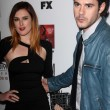 Stock Photo: Rumer Willis, Jayson Blair at Premiere Screening of FXs AmericHorror Story Asylum, Paramount Theater, Hollywood, C10-13-12
