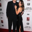 Stock Photo: Cory Monteith, LeMichele at Premiere Screening of FXs AmericHorror Story Asylum, Paramount Theater, Hollywood, C10-13-12