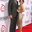 Owain Yeoman, Gigi Yallouz at CBS Celebration of 100 Episodes Of Mentalist, Edison, Los Angeles, C10-13-12 — Stock Photo #14025309