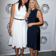 Постер, плакат: Casey Wilson and Elisha Cuthbert at the Paley Center For Media Presents An Evening with Happy Endings and Don t Trust the B in Apartment 23 Paley Center Beeverly Hills CA
