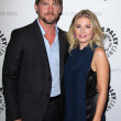 Постер, плакат: Zachary Knighton and Elisha Cuthbert at the Paley Center For Media Presents An Evening with Happy Endings and Don t Trust the B in Apartment 23 Paley Center Beverly Hills CA