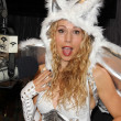 Ashley Marriott  at Kerri Kasem Talks Halloween at the Sixx Sense Studios featuring Josie Loves J. Valentine costumes, Sixx Sense Studios, Sherman Oaks, CA 10-17-12 — Stock Photo