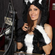 Kerri Kasem  at Kerri Kasem Talks Halloween at the Sixx Sense Studios featuring Josie Loves J. Valentine costumes, Sixx Sense Studios, Sherman Oaks, CA 10-17-12 — Foto de Stock