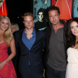 ������, ������: Leven Rambin Johnny Weston Gerard Butler Abigail Spencer at the Chasing Mavericks Los Angeles Premiere Pacific Theaters Los Angeles CA 10 18 12