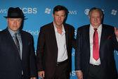 Michael Chiklis, Dennis Quaid and Sheriff Ralph Lamb — Stock Photo