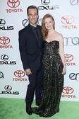 James Van Der Beek and wife Kimberly — Foto Stock