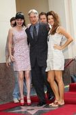 Pauley Perrette, Mark Harmon, Cote de Pablo — Stock Photo
