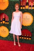 Rebecca Romijn at the 3rd Annual Veuve Clicquot Polo Classic, Will Rogers State Historic Park, Pacific Palisades, CA 10-06-12 — Stock Photo