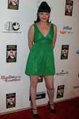 Pauley Perrette at the American Humane Association Hero Dog Awards, Beverly Hilton, Beverly Hills, CA 10-06-12 — Stock Photo