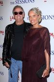 Peter Fonda, Parky Fonda at The Sessions Los Angeles Premiere, Bing Theatre, Los Angeles, CA 10-10-12 — Stock Photo