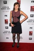 Lizzie Brochere at the Premiere Screening of FXs American Horror Story Asylum, Paramount Theater, Hollywood, CA 10-13-12 — Stock Photo