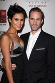 Maria Dolores Dieguez, Joseph Fiennes at the Premiere Screening of FXs American Horror Story Asylum, Paramount Theater, Hollywood, CA 10-13-12 — Stock Photo