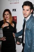 Rumer Willis, Jayson Blair at the Premiere Screening of FXs American Horror Story Asylum, Paramount Theater, Hollywood, CA 10-13-12 — Stock Photo