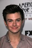 Chris Colfer at the Premiere Screening of FXs American Horror Story Asylum, Paramount Theater, Hollywood, CA 10-13-12 — Stock Photo