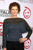 Rebecca Wisocky at the CBS Celebration of the 100 Episodes Of The Mentalist, The Edison, Los Angeles, CA 10-13-12 — Stock Photo