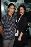 Booboo Stewart, Fivel Stewart at the Alex Cross Los Angeles Premiere, Arclight, Hollywood, CA 10-15-12 — Stock Photo