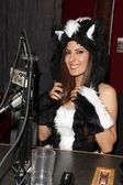 Kerri Kasem at Kerri Kasem Talks Halloween at the Sixx Sense Studios featuring Josie Loves J. Valentine costumes, Sixx Sense Studios, Sherman Oaks, CA 10-17-12 — Stockfoto