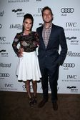 Elizabeth Chambers, Armie Hammer at Reel Stories Real Lives presented by The Motion Picture and Television Fund, Milk Studios, Los Angeles, CA 10-20-12 — Stock Photo