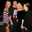Ruby Stewart, Jason Mewes, Kimberly Stewart and Sean Stewart at the Teen 2003 Artist Of The Year and AMA After-Party, Avalon, Hollywood, CA 11-16-03 — Stock Photo