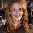 Постер, плакат: Katie Leclerc at the Los Angeles Premiere Of Captain America The First Avenger El Capitan Hollywood CA 07 19 11