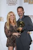 Jennifer Blanc, Michael Biehn — Stock Photo