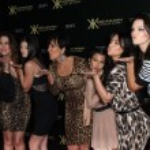 Khloe Kardashian, Kylie Jenner, Kris Jenner, Kourtney Kardashian, Kim Karda — Stock Photo