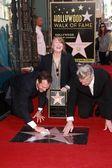 Bill Paxton, Sissy Spacek, David Lynch — Stock Photo