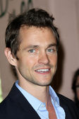 Hugh Dancy at the Hollywood Foreign Press Association Annual Luncheon, Bev — Stock Photo