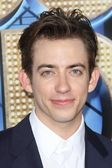 "Kevin McHale at the ""Glee The 3D Concert Movie"" World Premiere, Village Th — Стоковое фото"