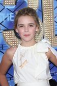 Kiernan Shipka at the Glee The 3D Concert Movie World Premiere, Village Theater, Westwood, CA 08-06-11 — Zdjęcie stockowe