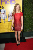 """Ahna O'Reilly at """"The Help"""" Los Angeles Premiere, AMPAS Samuel Goldwyn The — Stock Photo"""