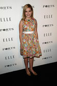 Kiernan Shipka at the ELLE Women in Television party, SoHo House, West Holly, CA. 01-25-11 — Stock Photo
