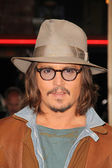 "Johnny Depp at the ""Rango"" Los Angeles Premiere, Village Theater, Westwood — Stock Photo"