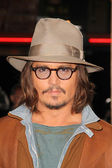 "Johnny Depp at the ""Rango"" Los Angeles Premiere, Village Theater, Westwood, — Stock Photo"