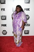 Gabourey Sidibe at the FOX Golden Globe After Party, Beverly Hilton, Bever — Stock Photo