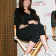 Stock Photo: Khloe Kardashiat press conference to announce Global Partnership Wi