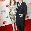Tony Bennett and Daughter Antonia — Foto de Stock