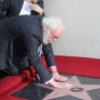 Donald Sutherland and Colin Farrell at Donald Sutherland Star on Hollywood Walk of Fame Ceremony, Hollywood Blvd, Hollywood, CA. 01-26-11 — Stock Photo #14120930