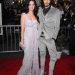 Постер, плакат: Katy Perry and Russell Brand at The Tempest Los Angeles Premiere El Cap