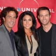 Shawn Christian, Nadia Bjorlin, Eric Martsolf — Stock Photo