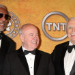 Morgan Freeman, Tim Conway and Ernest Borgnine — Stock Photo