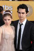 Kate Mara at the 17th Annual Screen Actors Guild Awards, Shrine Auditorium — Foto de Stock