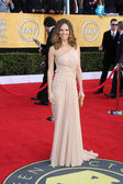 Hilary Swank at the 17th Annual Screen Actors Guild Awards, Shrine Auditor — Stock Photo