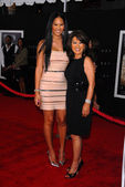 Kimora Lee and mother — Stock Photo