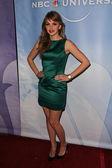 Aimee Teegarden at the NBC Universal Press Tour All-Star Party, Langham Huntington Hotel, Pasadcena, CA. 01-13-11 — Stock Photo