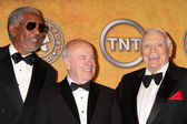 Morgan Freeman, Tim Conway and Ernest Borgnine — 图库照片