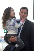 Sadie Sandler and Adam Sandler — Stock Photo