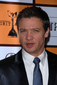 Jeremy Renner at the 2011 Film Independent Spirit Award Nominations Press — Stockfoto
