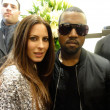 Постер, плакат: Kerri Kasem and Kanye West