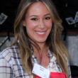 Haylie Duff at Skid Row Block Party at Los Angeles Mission, Los An — Stock Photo #14144635